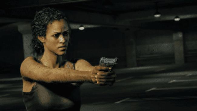 Marlene em 'The Last Of Us' (2013). Imagem: Naughty Dog/Divulgação