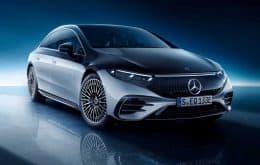 Mercedes EQS elétrico tem início de produção revelado