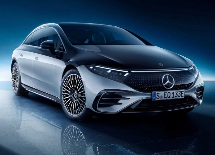 Mercedes EQS carro elétrico