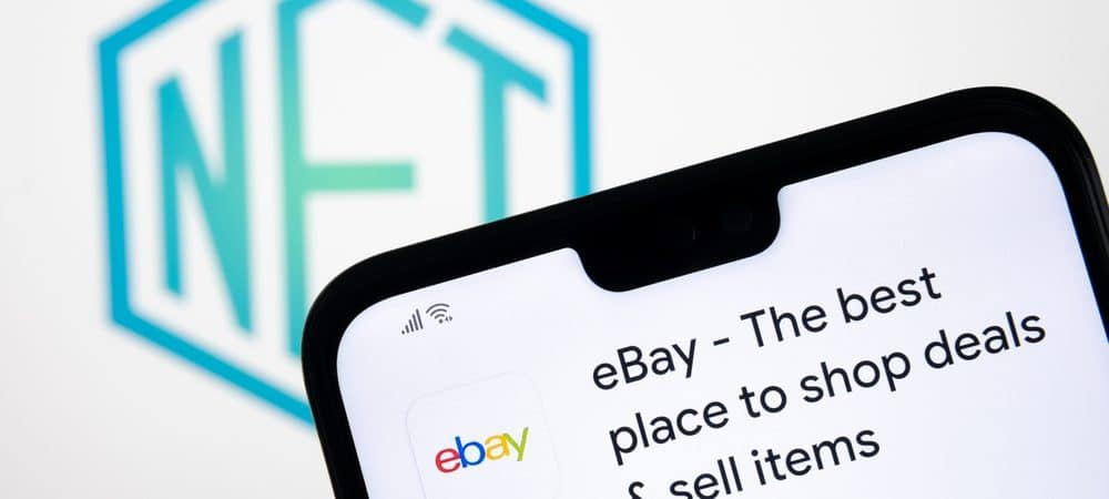 Logo do eBay e do NFT