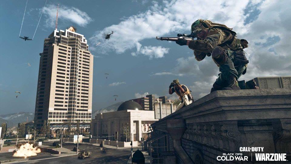 Nakatomi Plaza no cenário de Call of Duty