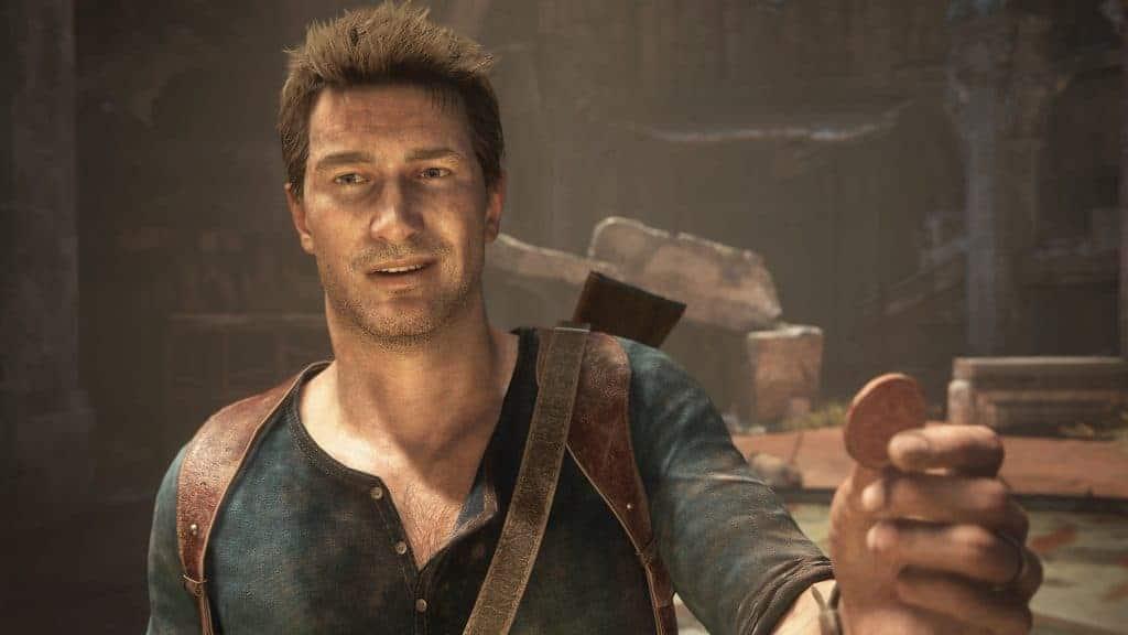 Nathan Drake em 'Uncharted 4'. Imagem: Naughty Dog/Reprodução