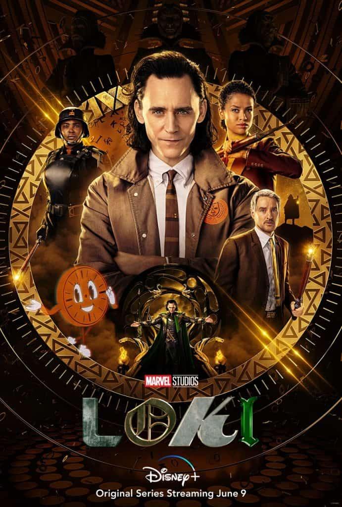 Tom Hiddleston é Loki em novo pôster oficial. Imagem: Marvel Studios/Divulgação