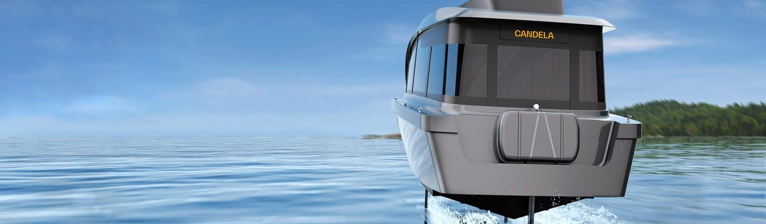 Candela P-12: water and electric taxi 90% cheaper than diesel models. Image: Disclosure