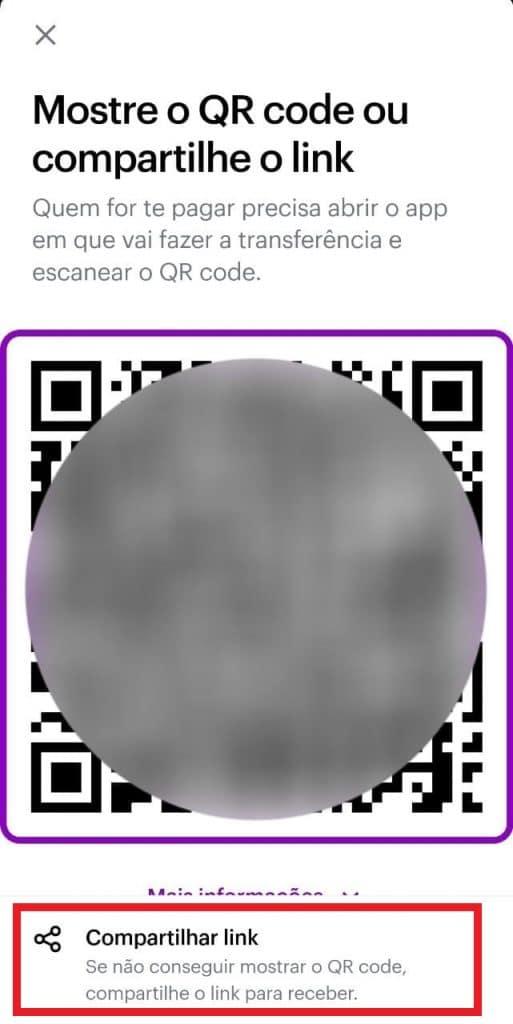 Print do aplicativo do Nubank