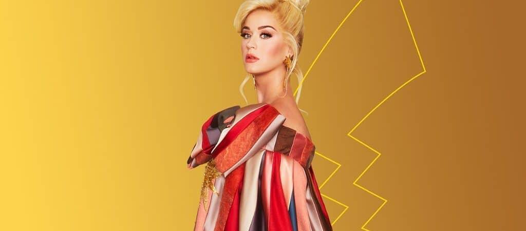 Katy Perry em imagem promocional para lançamento da faixa Eletric