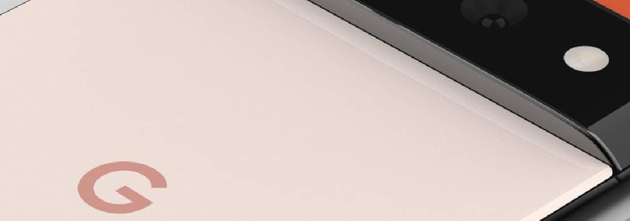 Imagem mostra a frente do Pixel 6 Pro, suposto novo smartphone do Google