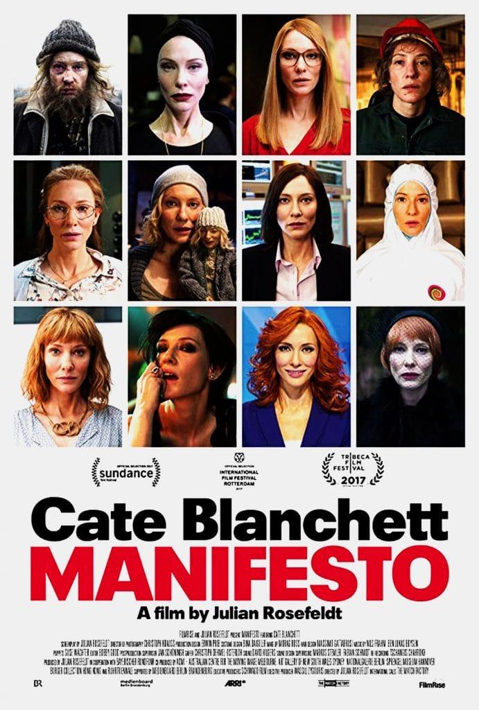 Poster do filme 'Manifesto'.