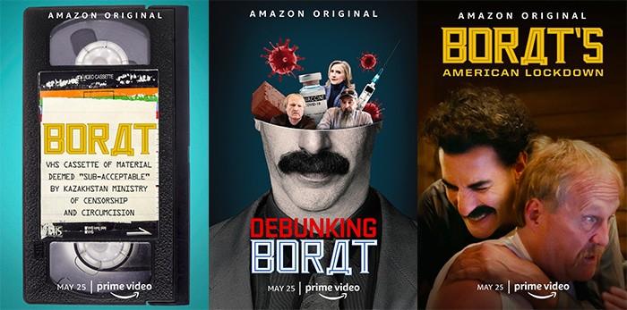 Posters do novo filme de Borat