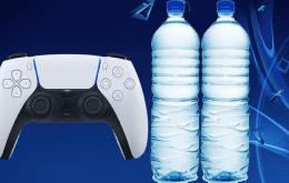Mulher compra PS5 na internet e recebe duas garrafas de água