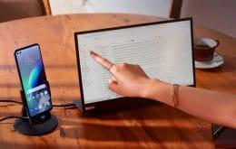 Listo para: la solución de Motorola le permite usar su teléfono inteligente como una computadora