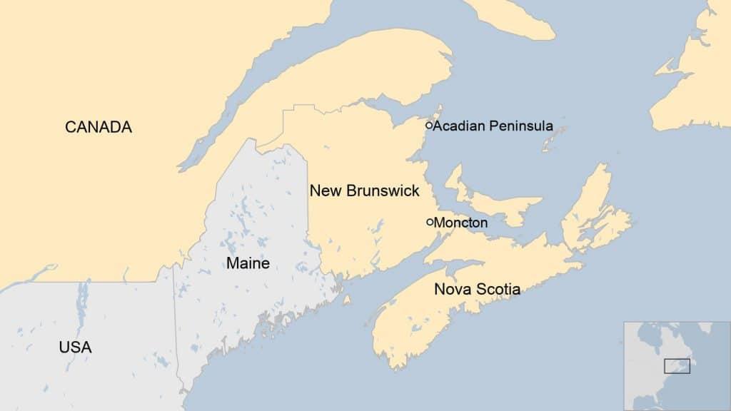 Doença cerebral misteriosa atinge região do Canadá. Imagem: Google