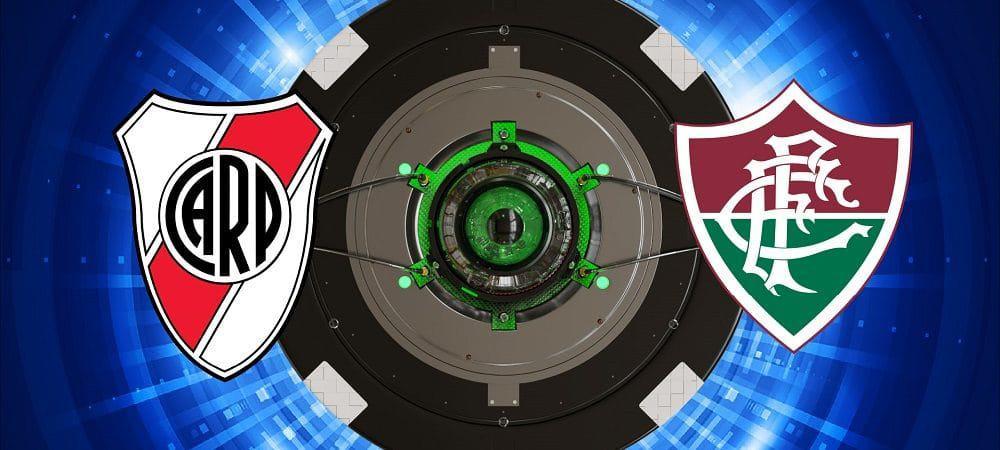 Escudos de River Plate x Fluminense