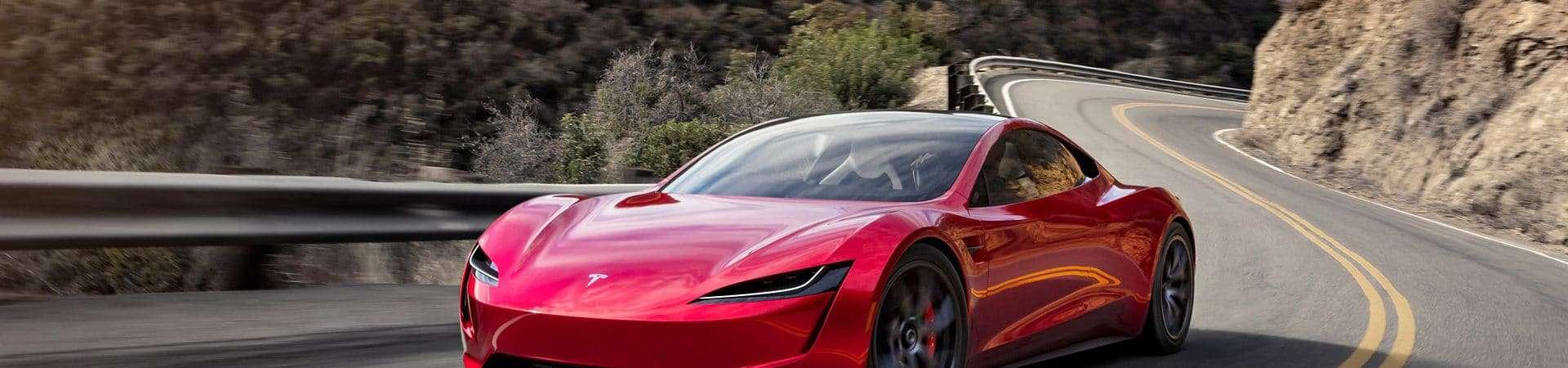 Novo Tesla Roadster será exibido em museu por 2 semanas. Imagem: Tesla/Divulgação