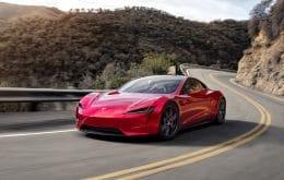 """Novo Tesla Roadster, considerado o """"carro mais rápido do mundo"""", será exibido em museu"""