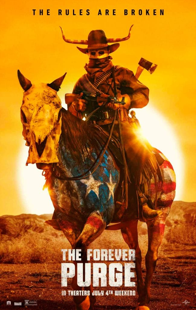 Poster do filme 'The Forever Purge'. Créditos: Divulgação/Universal