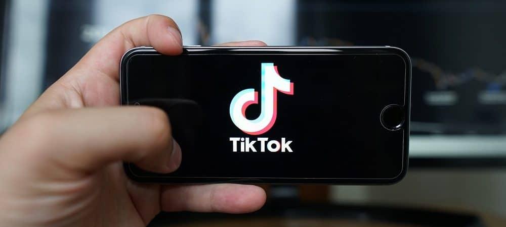 TikTok. Imagem: Shutterstock