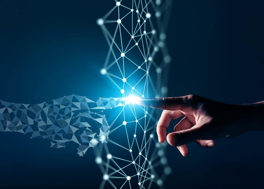 Representação gráfica da transformação digital