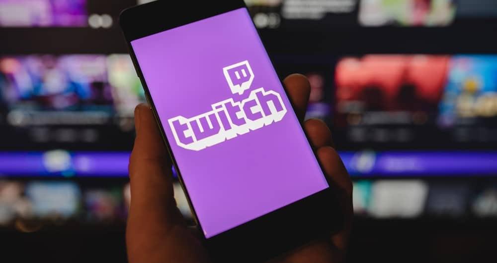 Logo da Twitch