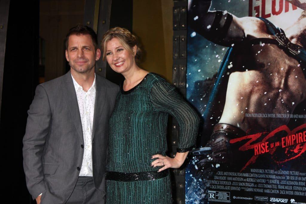 Zack Snyder e a esposa, Deborah, na estreia de '300: A Ascensão do Império'. Imagem: Kathy Hutchins / Shutterstock.com