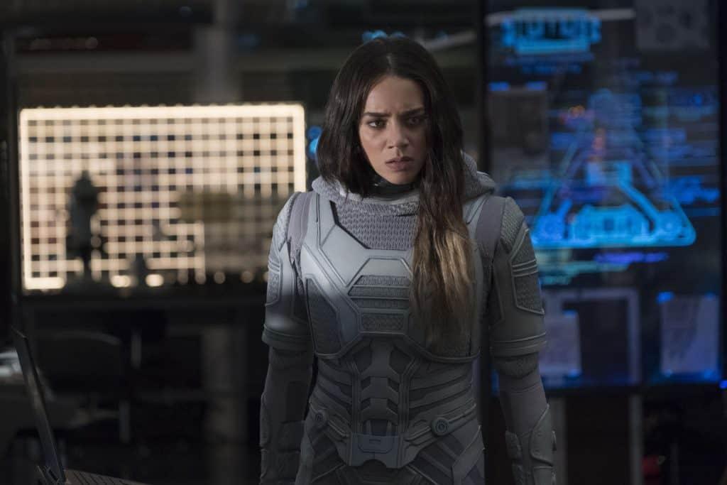 Hannah John-Kamen, de Homem-Formiga, será Red Sonja nos cinemas. Imagem: Marvel Studios/Divulgação
