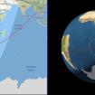Cohete chino se estrella en el Océano Índico