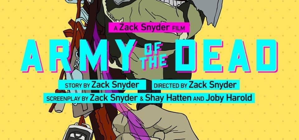 Arte promocional de 'Army Of The Dead'. Imagem: Netflix/Divulgação