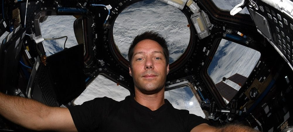 astronauta thomas pesquet estação espacial internacional