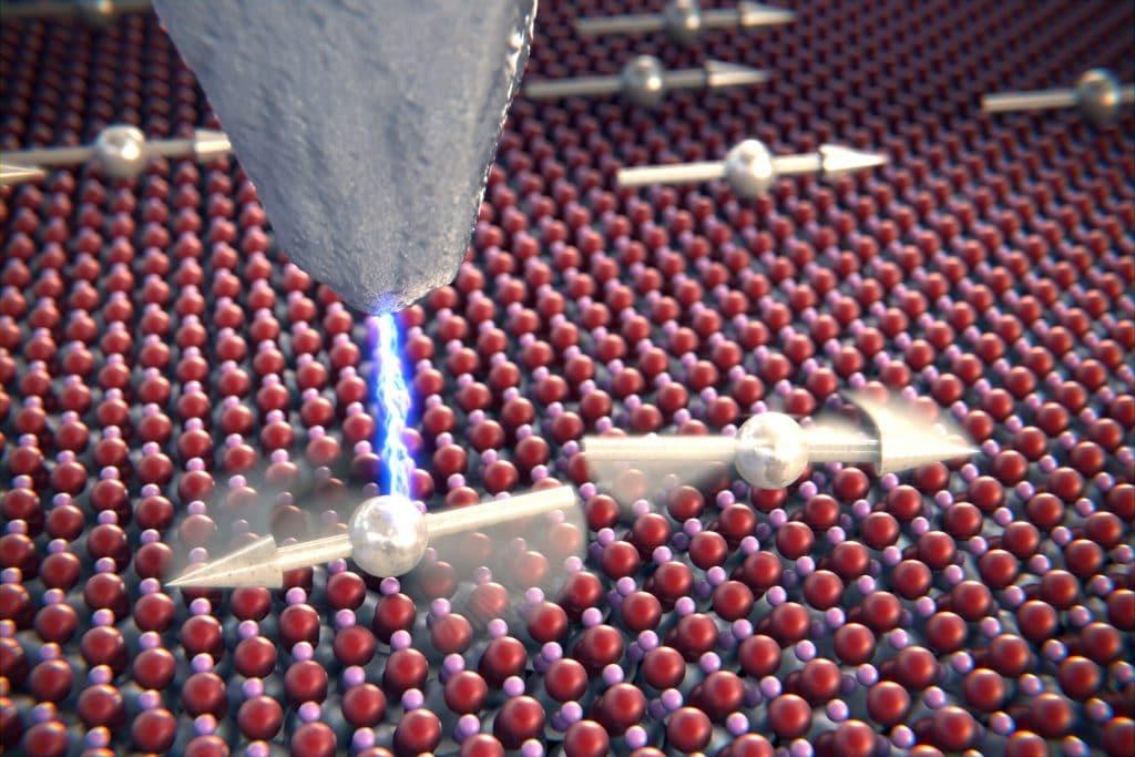 átomo cientistas conversa
