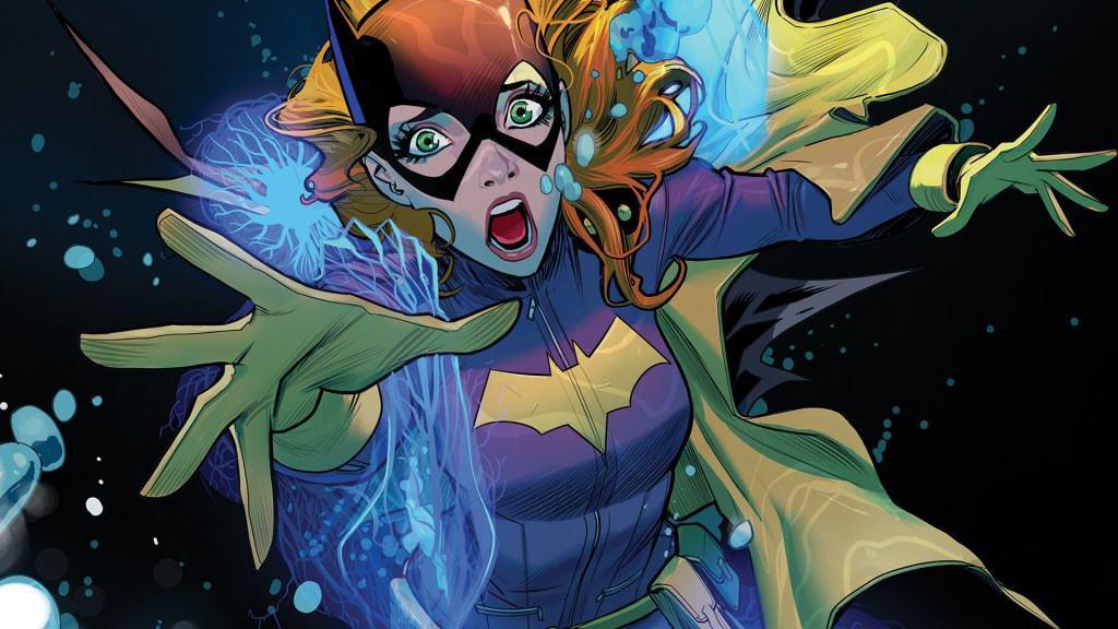 Batgirl desenhada por Hope Larson