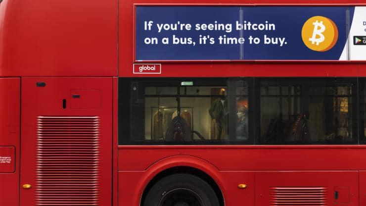 Campanha publicitária bitcoin