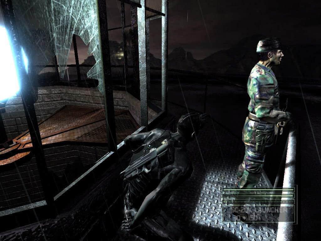 'Tom Clancy's Splinter Cell Chaos Theory'. Imagem: Ubisoft/Divulgação