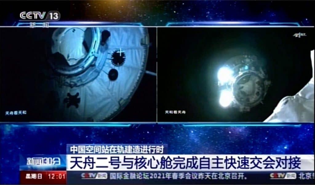 Astronautas a serviço do governo chinês irão para a estação espacial Tianhe em junho
