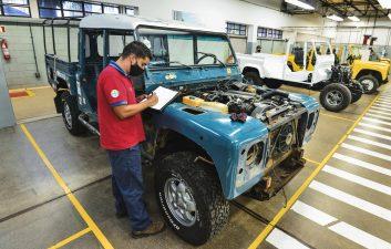 Land Rover opens restoration workshop for vintage cars in Brazil