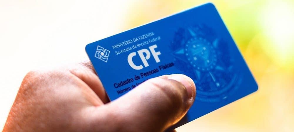 CPF. Imagem: Shutterstock