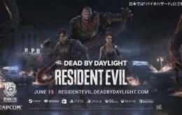 'Dead by Daylight' terá Jill, Leon e Nemesis de 'Resident Evil' em DLC
