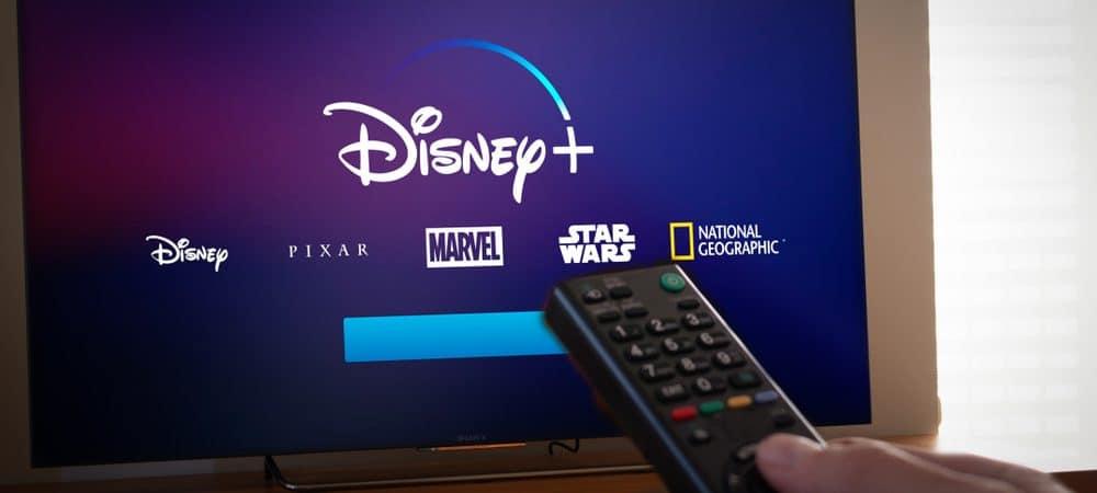 Imagem mostra a tela de uma televisão com todas as marcas de conteúdo do grupo Disney