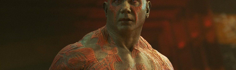 Drax, o Destruidor; um dos personagens de 'Guardiões da Galáxia 3'
