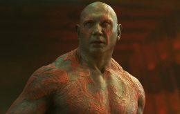 'Guardiões da Galáxia 3': ator revela futuro de Drax, o Destruidor