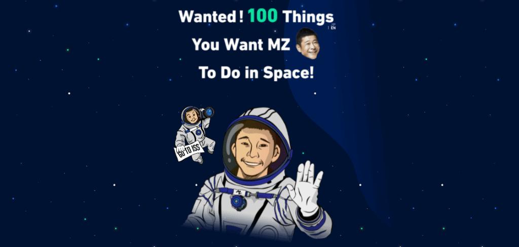 Yusaku Maezawa quer ideias do que fazer em sua viagem espacial turística