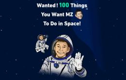 Bilionário quer 100 ideias do que fazer em sua viagem espacial turística