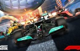 Fórmula 1 Fan Pack chega ao 'Rocket League' dia 20 de maio