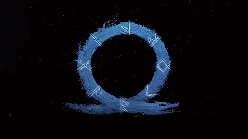 Logo de novo 'God Of War', que ainda não tem título oficial. Imagem: Sony/Divulgação