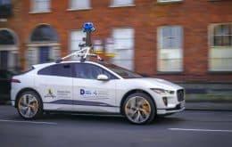 Google ahora tiene un Jaguar eléctrico para capturar imágenes de Street View