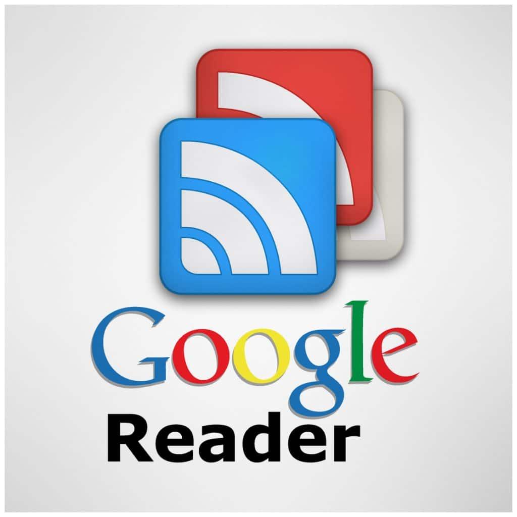 Imagem mostra a logomarca do Google Reader, que pode voltar à vida como extensão do Chrome
