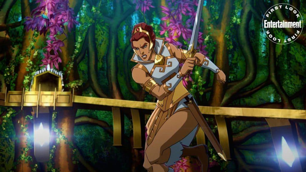Sarah Michelle Gellar será Teela m 'Masters of the Universe: Revelation'. Imagem: Netflix/Divulgação