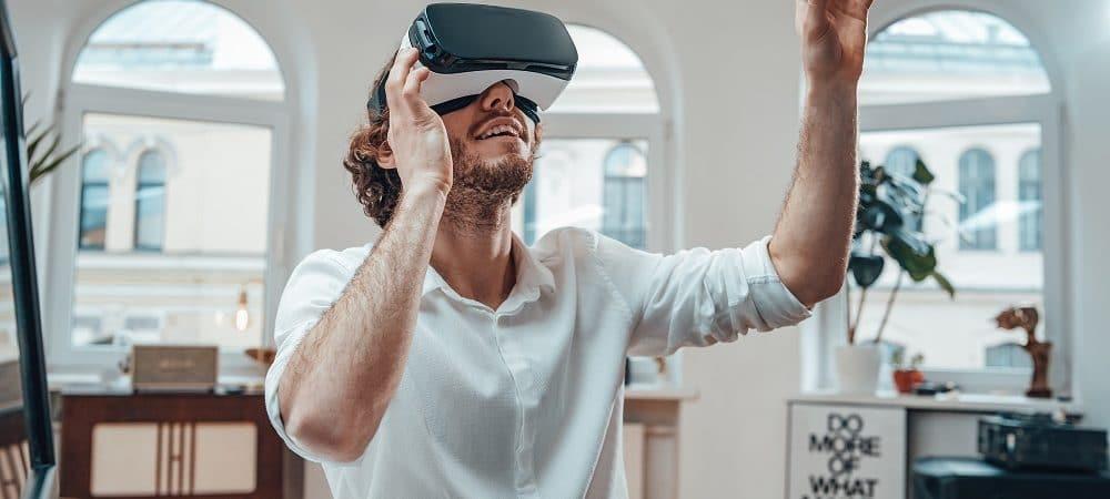Jogos de VR. Imagem: Shutterstock