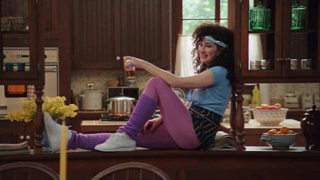 Kathryn Hahn roubou a cena em 'WandaVision'. Créditos: Divulgação/Disney