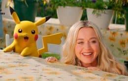 Ao lado de Pikachu, Katy Perry lança música para comemorar 25 anos de 'Pokémon'