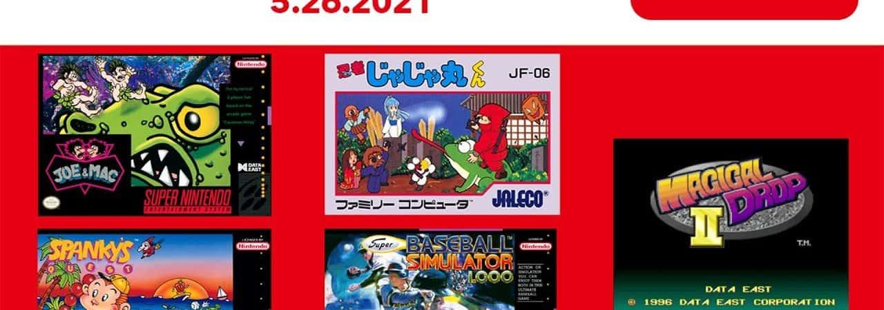 Nintendo Switch Online: com novos títulos chegando, serviço tem 104 jogos retrô, ao todo. Imagem: Youtube/Reprodução